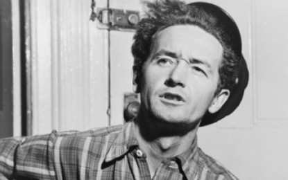 Woody Guthrie je nominovaný na Bad Sex in Fiction Award