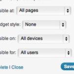 Widgets ‹ Meet Gavern WP — WordPress-1